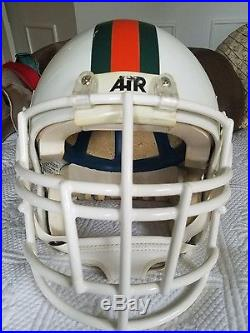 Miami Hurricanes football helmet authentic