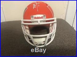 Miami Ray Lewis Authentic Signed Alternate Amp Speed Mini Helmet COA by Beckett