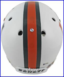 Miami Santana Moss All About The U Signed Schutt Full Size Rep Helmet BAS