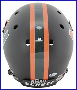 Miami Warren Sapp All About The U! Signed Black Schutt Full Size Rep Helmet BAS