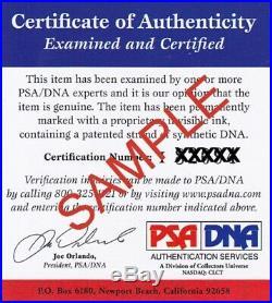 Michael Irvin Autographed Miami Hurricanes Mini Helmet PSA/DNA Authenticated