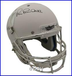 Michael Irvin Autographed/Signed Miami Hurricanes Replica White Helmet JSA 21603