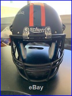 Michael Irvin Signed Replica Full Size Helmet/ University Of Miami