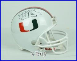 NCAA University of Miami Jim Kelly #12 Authentic Autographed Full Size Helmet