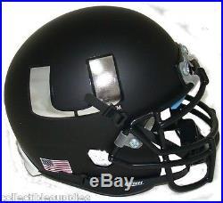 New Miami Hurricanes Alternate Black Schutt Mini Football Helmet