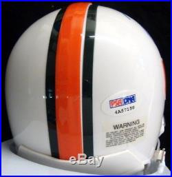 Ray Lewis Autographed Signed Miami Hurricanes Mini Helmet Psa/dna Stock #28859