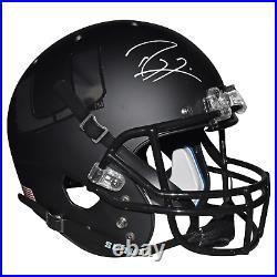Ray Lewis Signed Miami Hurricanes Full-Size Schutt Replica Black Football Helmet
