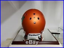 Reggie Wayne Autographed Miami Hurricanes Autographed Matte Orange F/s Helmet