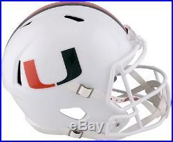 Riddell Miami Hurricanes Revolution Speed Replica Helmet