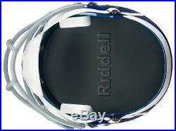 Riddell Miami Hurricanes Speed Full Size Deluxe Replica Football Helmet 8053085