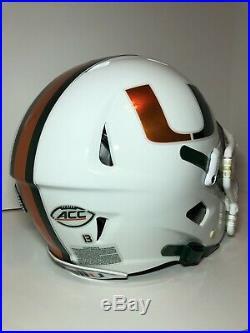 Riddell Speed 360 Miami Hurricanes Football Helmet