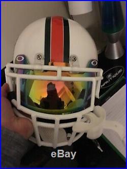SEAN TAYLOR #26 Signed UM MIAMI HURRICANES Mini Helmet