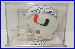 Sean Taylor Autographed Mini Helmet Miami Hurricanes Washington Redskins Gai Coa