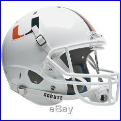 Schutt Sports SCH-7150-043 Miami Hurricanes NCAA Replica Air XP Full Size Helmet
