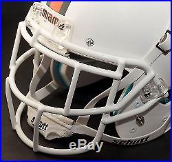 Schutt Super Pro EGOP Football Helmet FACEMASK / FACEGUARD MIAMI HURRICANES