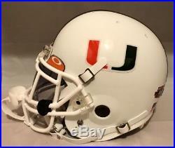 Sean Taylor Miami Hurricanes 2002 Rose Bowl Schutt Game Style Authentic Helmet L