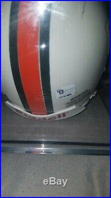 Sean Taylor Miami Hurricanes Autographed Mini Helmet