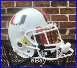 Sean Taylor Miami Hurricanes Rose Bowl Schutt Air II Authentic Football Helmet