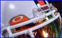 Sean Taylor University Of Miami 2003 BCS Championship Game Full Size Helmet