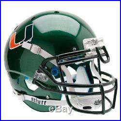 Sports Miami Hurricanes NCAA Authentic Air XP Full Size Helmet Alternate 1