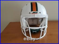 University Of Miami Hurricanes Custom Full Size Helmet