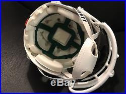 University of MIAMI HURRICANES Ray Lewis SCHUTT Full-Size Authentic Helmet NEW