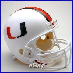 University of Miami Hurricanes Full Size Riddell Replica Football Helmet