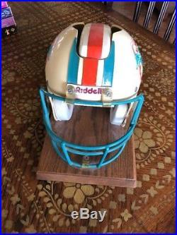 University of Miami Hurricanes helmet phone telephone nardi draft day Jim Kelly