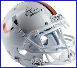 Vinny Testaverde Miami Hurricanes Signed Authentic Helmet with Heisman 86 Insc