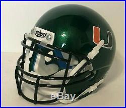 Vinny Testaverde Signed Miami Hurricanes Football Mini-Helmet Heisman Beckett