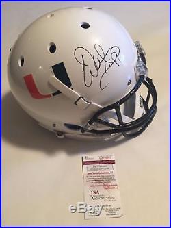 Warren Sapp Autographed Full Size Miami Hurricanes White Helmet