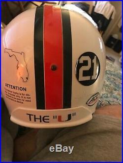 Warren Sapp Autographed Signed Full Size Helmet Miami Hurricanes UDA Hologram
