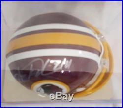 Washington Redskins & Miami Hurricanes Legend Sean Taylor Autographed Helmet COA