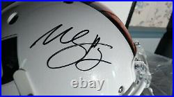 Willis McGahee Autographed Miami Full Size Helmet-Inscribed All About The U