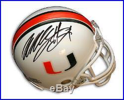 Willis McGahee Autographed Miami Hurricanes Mini Helmet