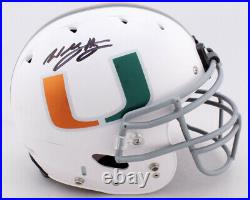 Willis McGahee Signed Hurricanes Full-Size Authentic Helmet plus jersey (jas)